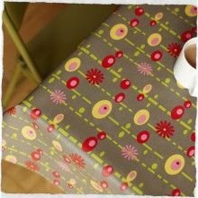 Pop Oilcloth - Taupe