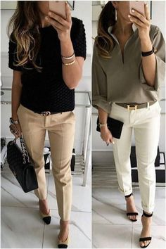 hu - Business Casual Outfits for Work - Fashion Casual Work Outfits, Mode Outfits, Work Casual, Casual Chic, Fashion Outfits, Outfit Work, Dress Fashion, Fashion Ideas, Casual Blazer