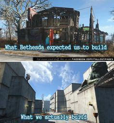 Fallout 4 Settlement City  So you thought youre a builder  Until you saw this. Now youre not sure anymore.