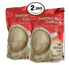 Pack of 2 - Seattle's Best Coffee Instant Flavored Latte, Very Vanilla Latte >>> Additional details at the pin image, click it Seattle Best Coffee, Latte Flavors, Pin Image, Image Link, Instant Coffee, Vanilla, Coffeehouse, Coffee Coffee, 40 Years