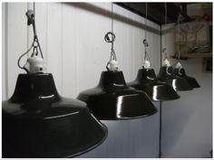 Fransk, Industrilampe - FINN Torget 900,- pr. stk