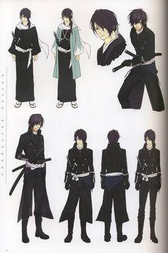Saito Hajime from Hakuouki - love both the kimono and uniform