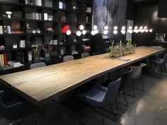 Stefan Knopp – By nature and Knopp Conference Room, Dining Room, Nature, Furniture, Home Decor, Timber Wood, Ideas, Naturaleza, Decoration Home