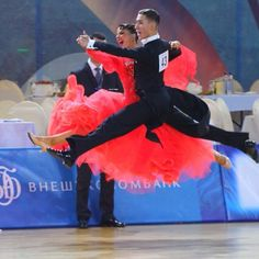 The winners of the 2013 World Ch. Junior II Standard (Moscow, RUS). Dmitry Kulebakin - Karina Nikolaeva