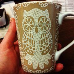 My new owl mug.....