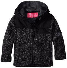 Weatherproof Little Girls' Bugatti Fleece Hooded Jacket *** Check out @