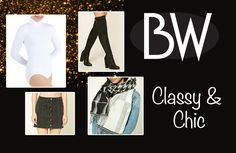 Classy and Chic featuring our BWP201 in  WHT!!