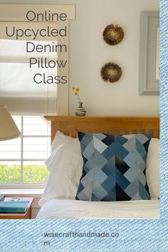 Online Denim Class to help you use up your denim stash!