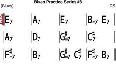 [Blues Practice Series Blues (Slow Blues in E Key Tempo - Backing Track Kind Of Blue, Backing Tracks, Guitars, Jazz, Sheet Music, Blues, Key, Feelings, Unique Key