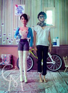 Hipster Barbie & Ken photo @ framedtoperception