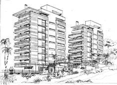 Croqui Edifício Costa do Sol