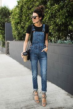 Overalls (Hello Fashion) Overalls Want us to pay for your shopping and your travel? Also you have to do is refer us to someone looking to make a hire. Source by The post Overalls (Hello Fashion) appeared first on Create Beauty. Mode Outfits, Casual Outfits, Fashion Outfits, Womens Fashion, Fashion Trends, Night Outfits, Fashion Bloggers, Casual Heels Outfit, Fashion Tips
