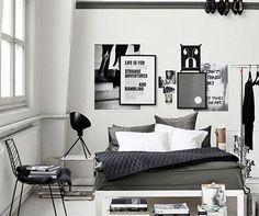 modern bedroom |