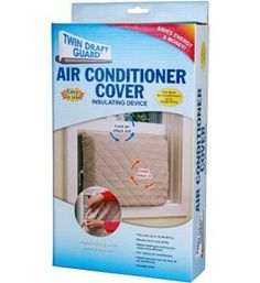 "Indoor Air Conditioner Cover By Twin Draft Guard by Twin Draft Guard. $16.50. Keeps condensing coil clean.. No tools needed.. Fits most air conditioners up to 10,000 BTUs.. Adjusts up to 20"" high x 28"" wide.. Keeps your house energy efficient and extends the life of your window AC unit.. Reduce your heat bills! When your air conditioner is idle in cold weather, it can rob your home of heat. The solution - seal your air conditioner to prevent heat loss, as well as k..."