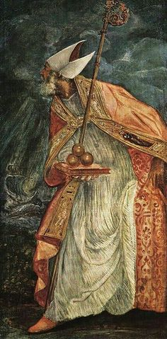 Saint Nicholas, celebrated on the 6th of December