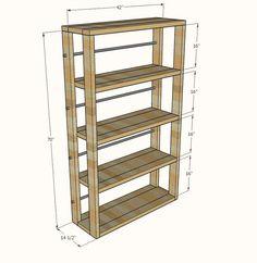 cute and easy bookshelves, shelving ideas, storage ideas