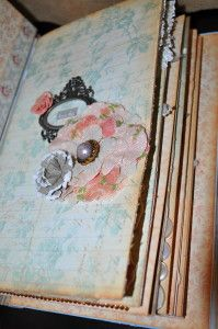 """Handmade """"My first Year Book"""" for my daughter"""