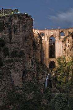 Puente Nuevo del Tajo de Ronda - Andalusia - Spain