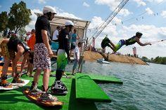 wakeboarden in Hongarije