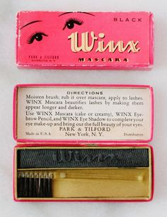 "Park & Tilford ""Winx"" Cake Mascara"