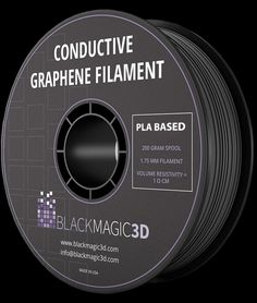 Conductive Filament is much stronger than typical ABS or PLA. This makes it perfect for printing 3D objects such as hand-tools, hooks, or parts which require tooling.