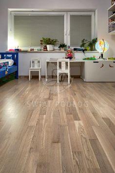 Dąb Classic FertigParkiet http://www.swiatpodlog.com.pl/realizacje.html #warszawa #bartycka #natural #floor #design #swiatpodlog #kids #room