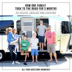 All your family road trip questions answered