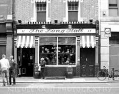 The Long Hall Pub Dublin Ireland Black and by NicoleRaniPhoto Eiffel Tower Photography, Time In France, Long Hall, Days Before Christmas, Black And White Canvas, Dublin Ireland, Friends In Love, Fine Art Photography, Your Photos