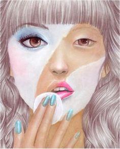 "jdiamondisme:    Ladies its not ""Makeup"" its ""MakeBELIEVE"".. -Joey Diamond"