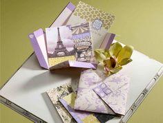 Beautiful Parisian invites