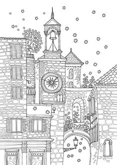 FREE Printable Castle Coloring Book with 22 Famous Castles from ...