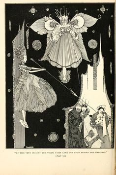 Babies had the tiniest faces. | 15 Breathtaking Illustrations Of Fairy Tales From The 1920s Clarke