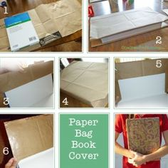 7 Best Paper bag book cover images   Healthy