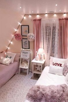 Fantastische Tween Mädchen Schlafzimmer Ideen dream house luxury home house rooms bedroom furniture home bathroom home modern homes interior penthouse My New Room, My Room, Twin Room, Girl Bedroom Designs, Bedroom Girls, Bedroom Ideas For Small Rooms For Girls, Bedroom Decor Glam, Bedroom Bed, Teen Bedroom Decorations
