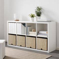 Ikea Kallax Unit, Kallax Shelf Unit, Kallax Shelving, Drawer Unit, Ikea Storage, Storage Boxes, Storage Spaces, Cube Storage Baskets, Shoe Box Organizer