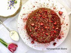 Oho! Hapankaali-suklaakakku (gluteeniton) ja muita maittavia ruokaohjeita (Kananpoikien Bistro)