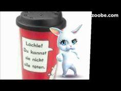Coffee to go...Guten Morgen, liebe Sorgen...;) Kaffee, Zoobe, Animation - YouTube