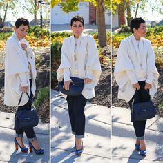 #DIY Cocoon Sweater Tutorial - Mimi G Style