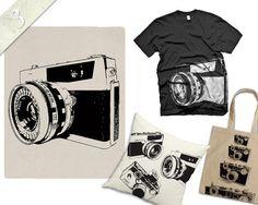Digital Download Graphics Vintage Camera 5 pack by PaperKutMedia, $3.00