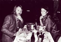 Anni-Frid Lyngstad and Benny Andersson (Frida and Benny) Best Of Abba, Have A Great Day, My Love, 70s Aesthetic, Pop Group, Cool Bands, My Music, History, Fictional Characters