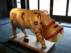 Happy April Fool's Day from APOD. Suiting Up for the Moon: Robert Nemiroff (Michigan Tech. U.): How will cows survive on the Moon? Lunar Grazing Module (LGM), a multi-purpose celestial bovine containment system.