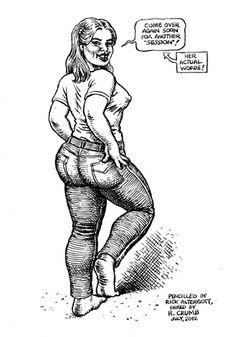 Robert R. Crumb - 2012 Robert Crumb, Fritz The Cat, Hip Hop Art, Comic Drawing, Ink Illustrations, Erotic Art, Drawing Reference, Coke, Pin Up Girls