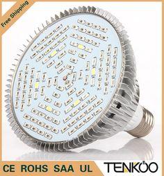 1 pcs Spektrum Penuh Dipimpin Tumbuh Cahaya E27 30 W 50 W 80 W Led Tumbuh Lampu untuk Sistem Hidroponik Bunga Tanaman akuarium Led pencahayaan