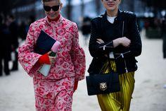 Paris Fashion Week Fall 2016 Street Style, Day 2 - -Wmag