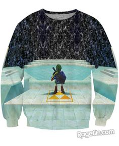 Legend of Zelda Great Fairy Fountain Crewneck Sweatshirt