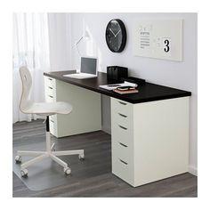 ALEX Schubladenelement IKEA Ausziehsperre verhindert, dass die Schubladen ganz herausgezogen werden und herunterfallen.