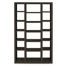 Room & Board - Woodwind 44w 17d 72h Triple Open-Back Bookcase