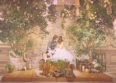 インスタで人気のカリスマ花嫁♡kasumiさんのほっこり可愛いナチュラルウェディングを真似したい*のトップ画像