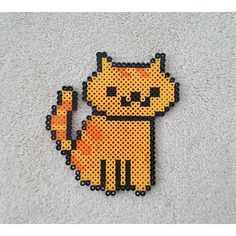 Neko Atsume perler beads by  raspberry.cafe