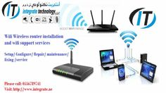 Wifi internet installation on call technician 0556789741 wifi router setup services in dubai-0556789741  We provide best professional IT solutions. We provide complete setup for office Home Villa shops Malls house school buildings and hospital in Dubai UAE.  Networking and cabling  – Telephone System   – Servers Installation  – CCTV Cameras Installation  – Printers' Solution  – Computers Supply  – Wifi Solution  – Access control  We attend for Wifi router installation  We are specialized in…